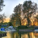 Paper Mill Lock Sunset