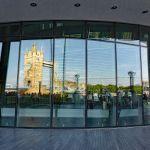 Reflecting on Tower Bridge