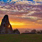 Hadleigh Castle Star Burst